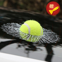 ETIE Car Styling Tennis Hits Car Window Sticker Design Motorcycle Accessories Baseball Funny Car Stickers and Decals Auto Audi(China (Mainland))