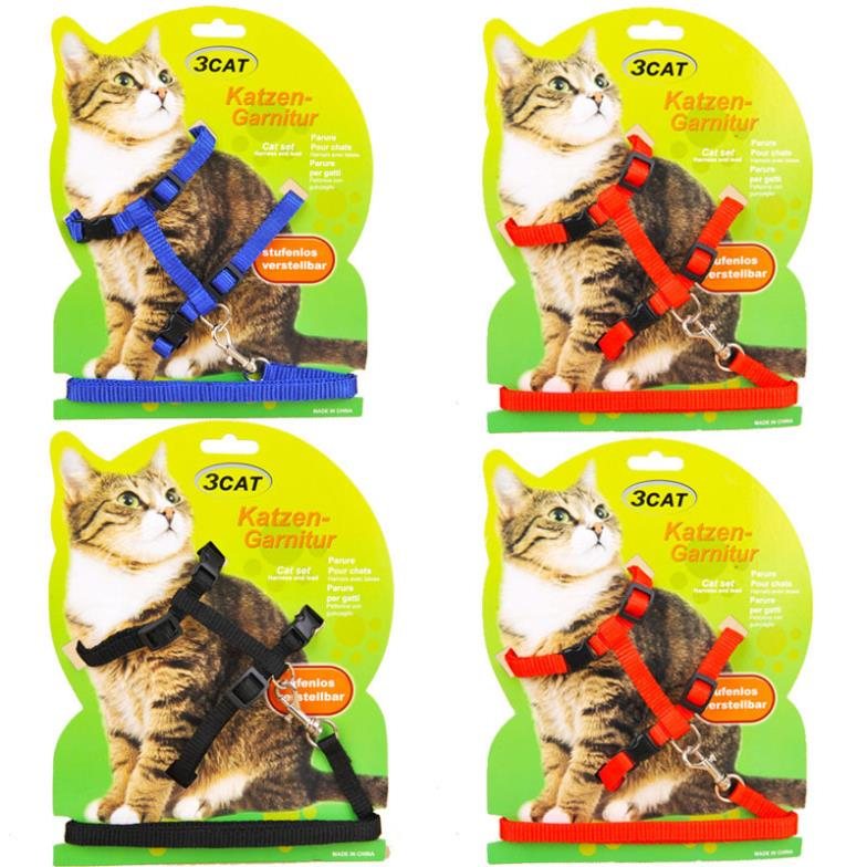 1093 Pet Products Cat Harness Kitten Leash Mini Dog Leads Puppy Small Animals 1PC