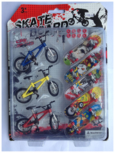 High Quality 100% New finger bmx bike children's toy thumb finger skateboard professional cycling  mini-finger-bmx(China (Mainland))