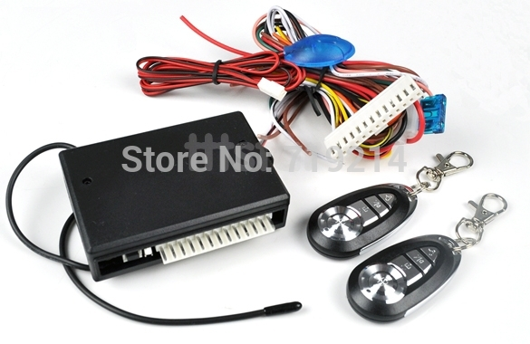 Car Remote Central Lock Locking Keyless Entry System with Remote Controllers DF2374(China (Mainland))