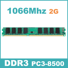 1066Mzh 2GB DDR3 PC3-8500 KVR1066D3N7/2G Memory Ram Memoria for Desktop PC Free Shipping Lifetime Warranty