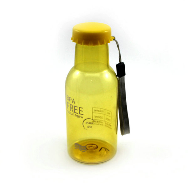 Portable Mini Leakproof Plastic Unbreakable Soda Water Bottle Travel Tour - isfang store