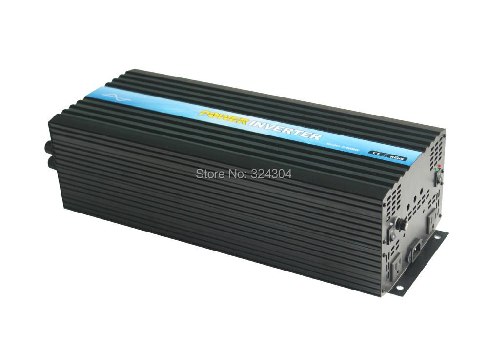 DC12v-AC110v 5000W 50Hz/60Hz Pure Sine Wave Power Inverter, High Power Inverter(China (Mainland))