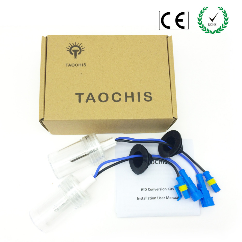 Taochis 12V 100W Car Auto Headlight H7 HID Xenon Lamps Replacement Light Bulb 4300k 5000K 6000k 8000k 10000k Conversion Kit(China (Mainland))