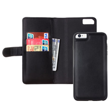 Retro Folded Wallet Case for iPhone 6/6 Plus 2 in 1 Leather Cover Original Brand Cellphone Bags ZoeRax