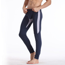 New 2016 Wholesale warm brand name cotton thermal underwear thermo underwear man long john underpants M L XL XXL(China (Mainland))