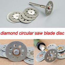 22mm 5pcs diamond grinding wheel diamond disc circular saw blade cutting disc abrasive mini drill dremel rotary tool accessories