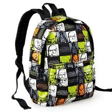 2015 new arrival children's cartoon backpack satchel baby bags kindergarten Star Wars 10'' school bag little kids boy schoolbag(China (Mainland))