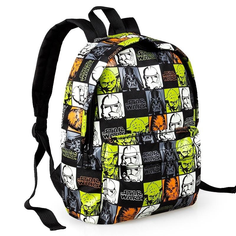 2015 new arrival children's cartoon backpack satchel baby bags kindergarten Star Wars school bag little kids boy schoolbag