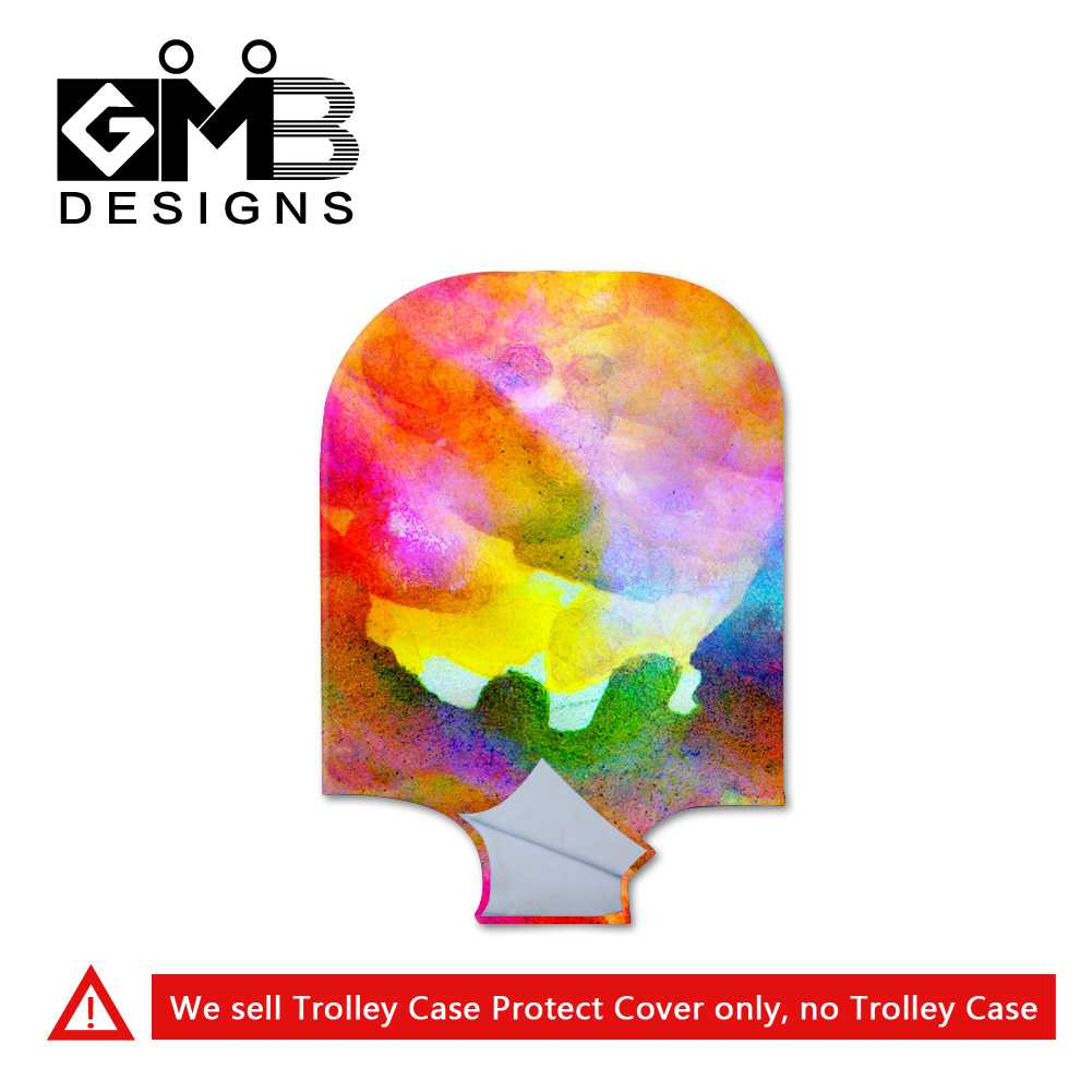 trolley case protect cover 3D printing travel luggage cover quality durable luggage protective cover waterproof suitcase cover(China (Mainland))