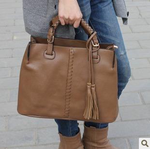 2012 fashion vintage air bag handbag cross-body bag women's handbag