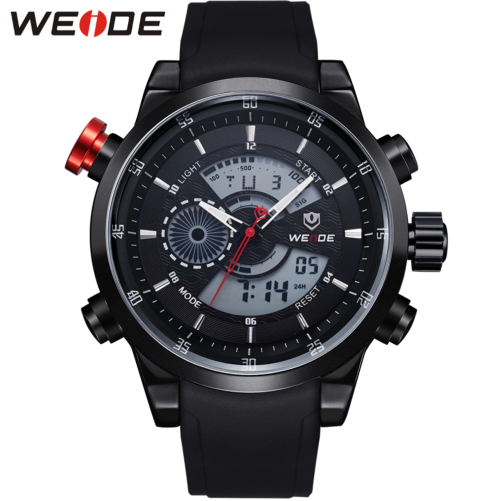 Free Shipping!!! New 2015 WEIDE Men Military Watches Luxury Army Watch LCD Display 3ATM Water Resistant  Limited Edition <br><br>Aliexpress