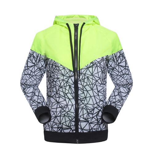 Free Shipping! Spring Autumn new Women's sports jacket hooded jacket Women Fashion Thin Windbreaker Zipper Coats(China (Mainland))