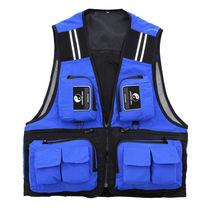 2015 новое поступление бренд мужской открытый нахлыстом жилет несколько карман водонепроницаемый регулируемые ремни жилет рыбалка жилеты сетки