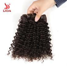 Lida Ruby Wave 3PCS/Lot 12″ Color1 1B 2 4 27 30 33 99J Synthetic Hair Extensions Synthetic Hair Weaving Synthetic Hair Bundles