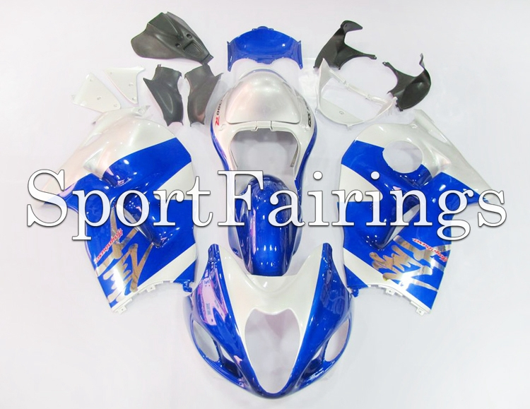 Fairings Fit Suzuki GSXR1300 Hayabusa Year 97-07 1997 1998 2006 2007 ABS Motorcycle Fairing Kit Bodywork Cowling Blue Silver(China (Mainland))