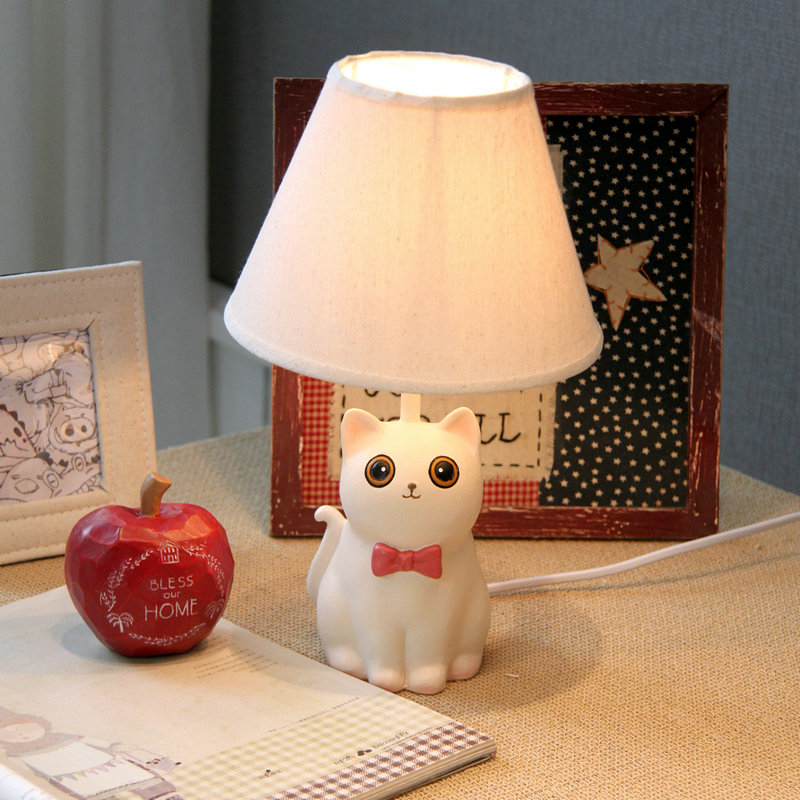 Nice Cat Lamp Creative Children 39 S Table Lamp Bedroom