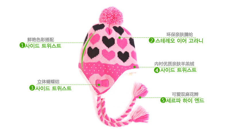 2017 Promotion Sale Women Character South Korea Kk Tree Baby Hat Children Winter Scarf Two Piece Of Knitting Ear Cap Handsome