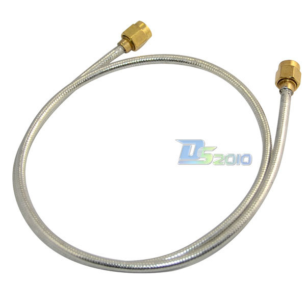 High Quality50cm RF Coaxial Pigtail SMA Male to Male Semi-rigid Cable Adapter RG402(China (Mainland))