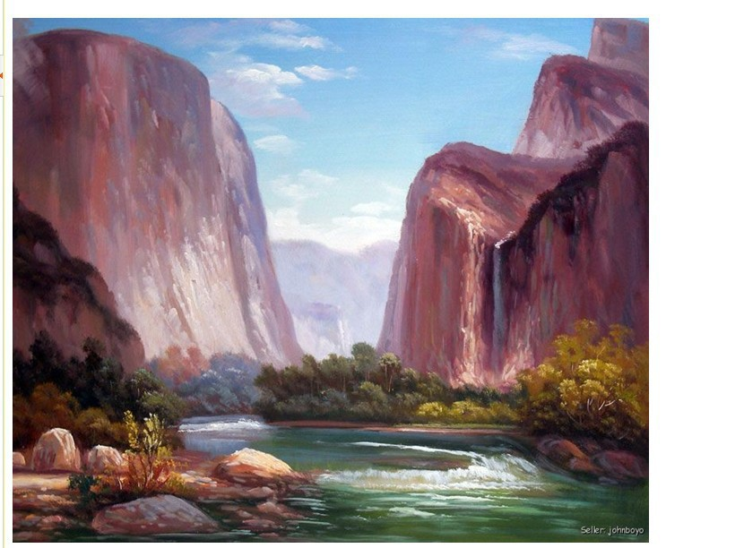 Mountains And Rivers Drawing Mountain River Rapids Fishing