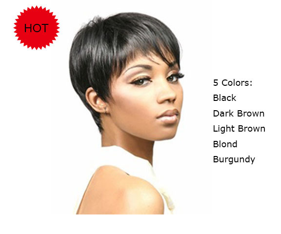 Short Pixie Cut Wigs for Black Women