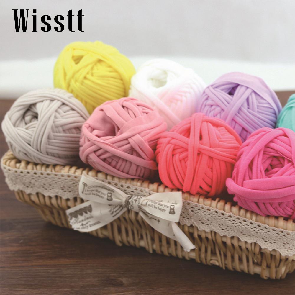 Трикотажные нитки для вязания ковриков цена 47