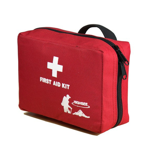 2 colors Outdoor Sports Travel Bag Camping Home Medical Emergency Survival First Aid kit Bag makeup Bag Free Shipping(China (Mainland))