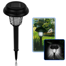 Buy UV LED Solar Powered Outdoor Mosquito Insect Pest Bug Zapper Killer Electric Mosquito Killer Lamp Pest Mosquito Repellent for $8.61 in AliExpress store
