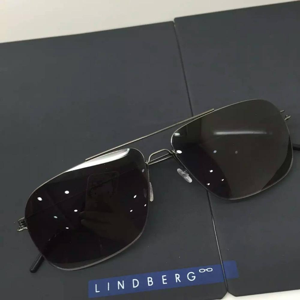 Hot 2016 direct selling lindberg pure titanium mens sunglasses ultra light ultra clear pure