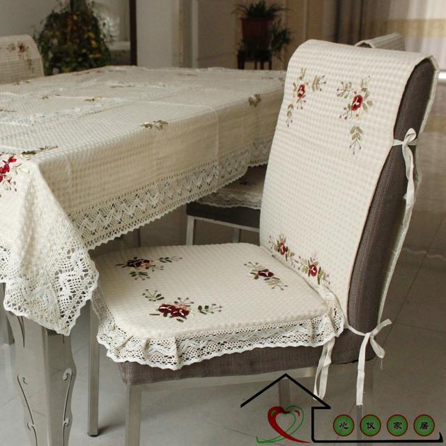 100% cotton seat cushion back Summer fashion chair cushion set