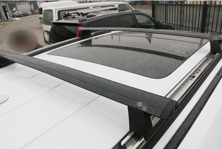 Cross Roof Top Mounted Rack Rails Bar 1Set For Jeep Grand Cherokee 2014 2015(China (Mainland))