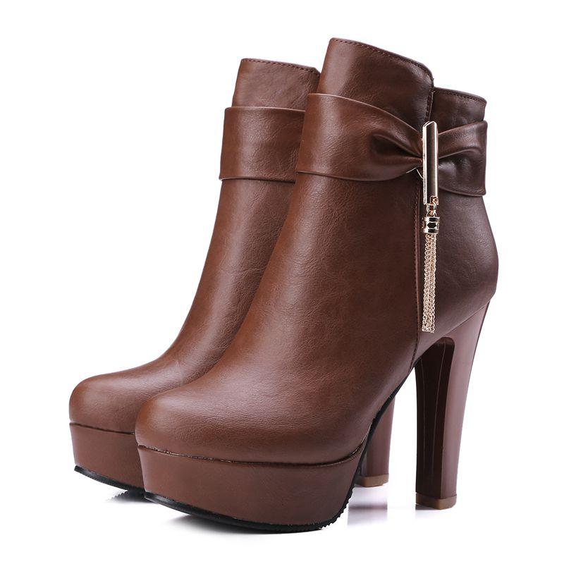 Online Get Cheap Winter White Dress Boots -Aliexpress.com ...