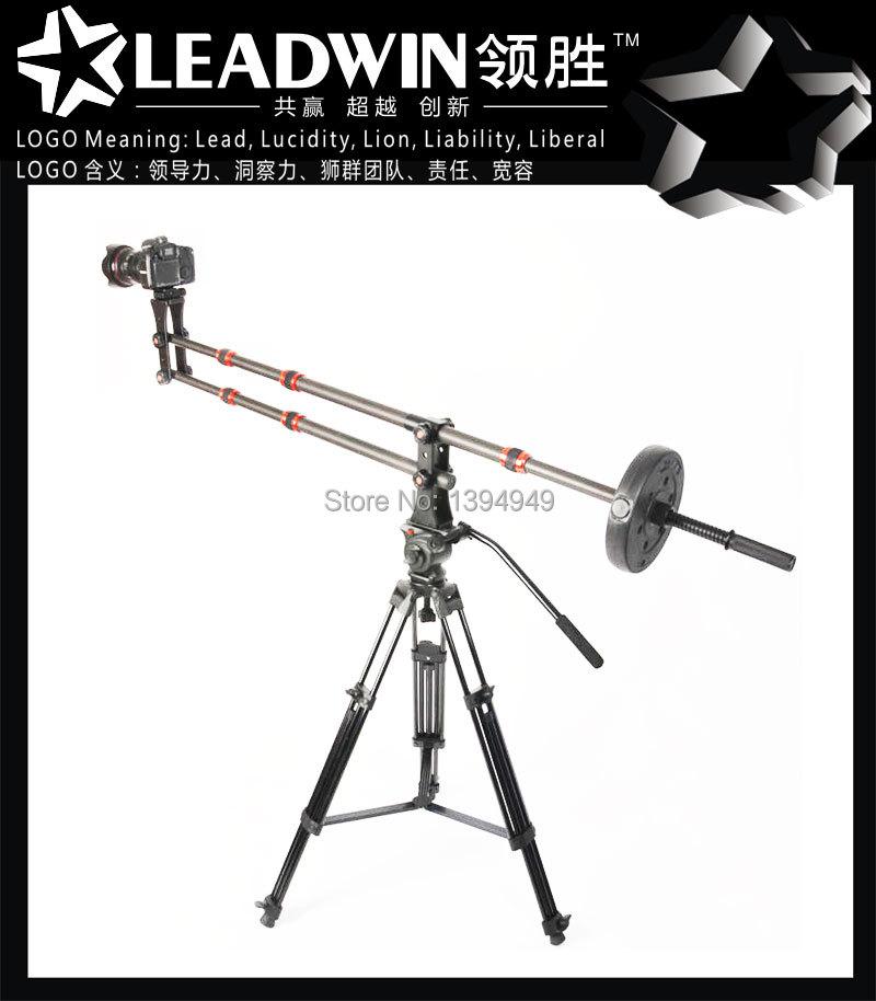 Hot professional new products camera crane triangle jimmy jib mini jib crane for video shooting(China (Mainland))