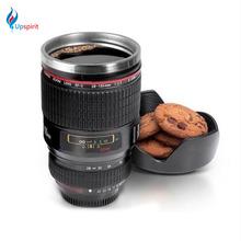New Coming 500ML Camera Lens Coffee Cup Scale Coffee Mug Special Present Plastic Milk Cup Traval Mug Tea Cups and Mugs Drinkware(China (Mainland))