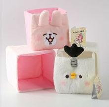 Japan Hot Office Drawer Storage Bag Cute Animal Storage Box Desk Organizer