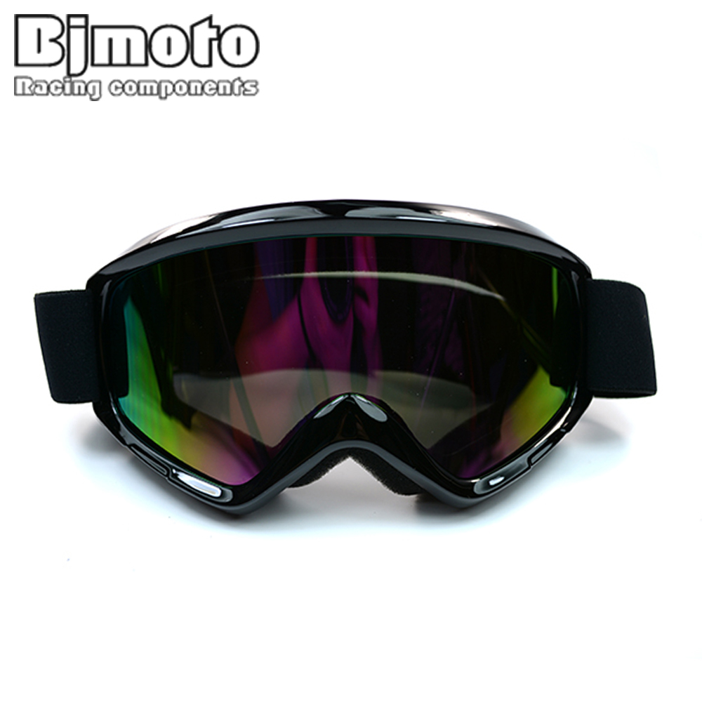 MG 015A BK Black Color Reflective Lens Flexible Adult Motorcycle font b Protective b font font