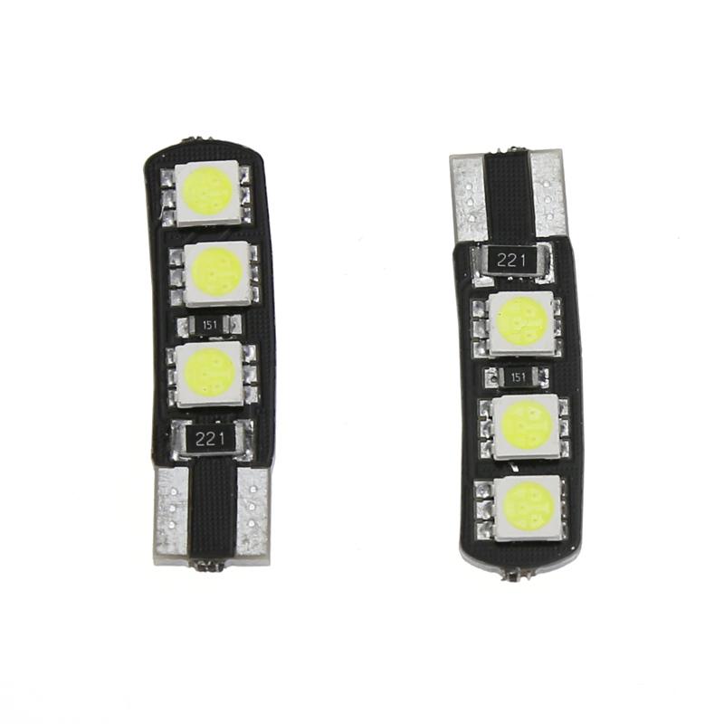 4 PCS Led white bulb core highlight/car styling light/parking light lamp/reading lamp license plate lamp car light source(China (Mainland))