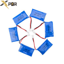 50pcs Syma X5 RC Lipo Battery 3.7V 850mah For Syma X5C X5SW X5SC CX30 CX-30 W Drone Helicopter Parts Battery Remote Control Toy