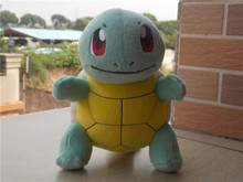 "2015 New Authentic TOMY Pokemon Squirtle 7"" Plush Doll Toy(China (Mainland))"