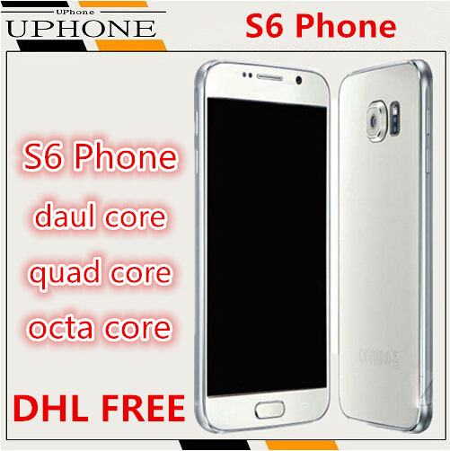 DHL FREE 2G RAM 32G ROM Original Logo S6 phone MTK6592 Octa Core mobile phone 5.1 inch 1280X720p Android 5.0 3G cell phones(China (Mainland))