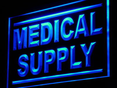 j078-b Medical Supply Shop Display Adv LED Neon Light Sign Wholesale Dropshipping On/ Off Switch 7 colors DHL(China (Mainland))