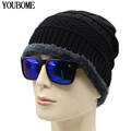 New Arrival Beanies Men Winter Hats For Women Men Knitted Hat Caps Gorros Warm Moto Sports