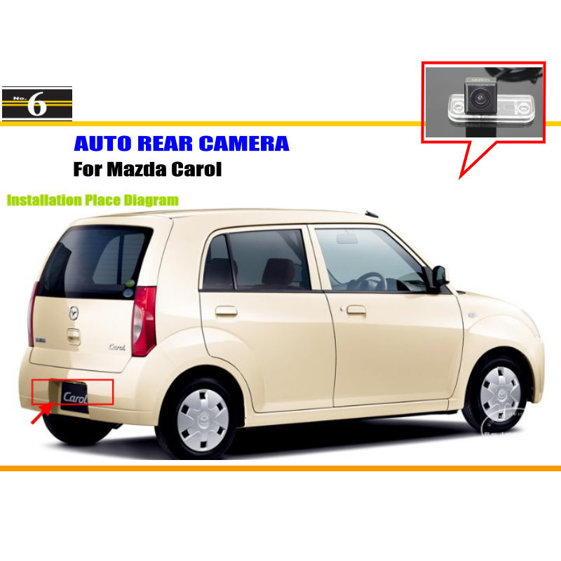 For Mazda Spiano / Demio / Carol - Car Rear View Camera / Back Up Reverse Parking Camera / HD CCD Rearview(China (Mainland))
