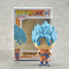 3 NOVO Estilo figura Dragon ball Z Super Saiyan Trunks Goku Preto Super Vol. 2 PVC Action Figure Modelo Brinquedos(China)