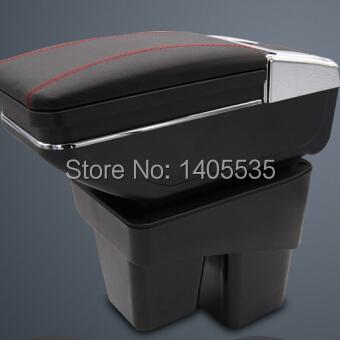 7 поколения автомобиль подлокотники коробка магазин содержание коробка ёмкость чехол для Honda Fit джаз, Автоматический аксессуары