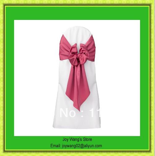 Hot Sale Satin Wedding Sashes Bow Party Bridal Decorating /Sash For Wedding/Joy Wang's Store/Chair Cover Sash(China (Mainland))