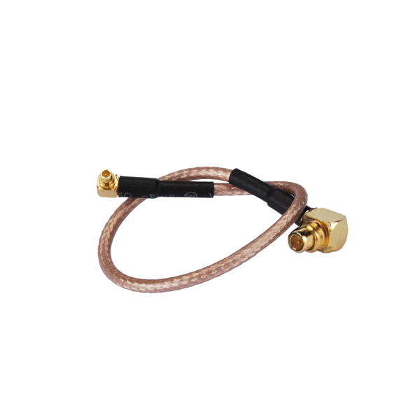 RF Coaxial Cable MMCX male RA to MMCX male RA pigtail cable RG316 30cm(China (Mainland))