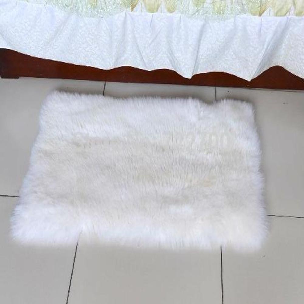 White animal rug koop goedkope white animal rug loten van chinese ...