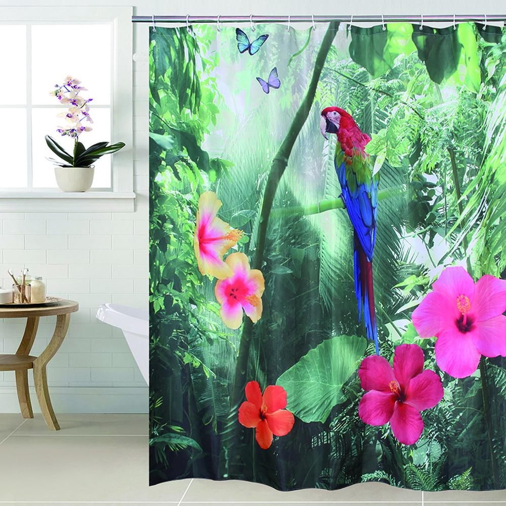 Achetez en gros polyester rideau de douche tissu en ligne des grossistes polyester rideau de - Rideau de douche 180x180 ...
