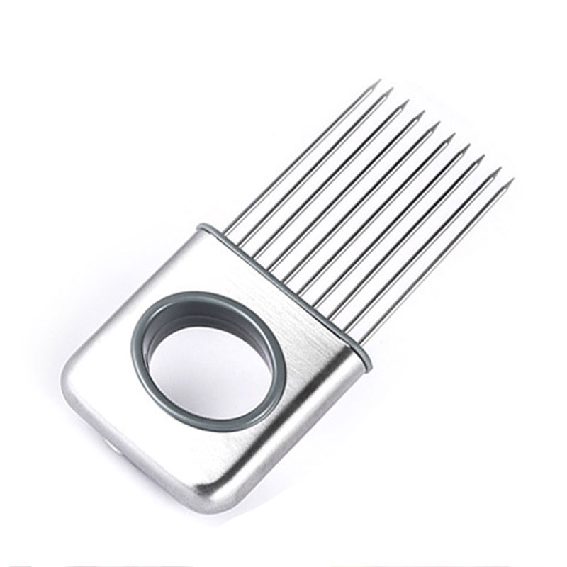 Protect Hands Super Convenient Stainless Steel Fruit Onion Fork Pork Steak Row Loose Meat Tenderizer Needle Device Cooking Tool(China (Mainland))